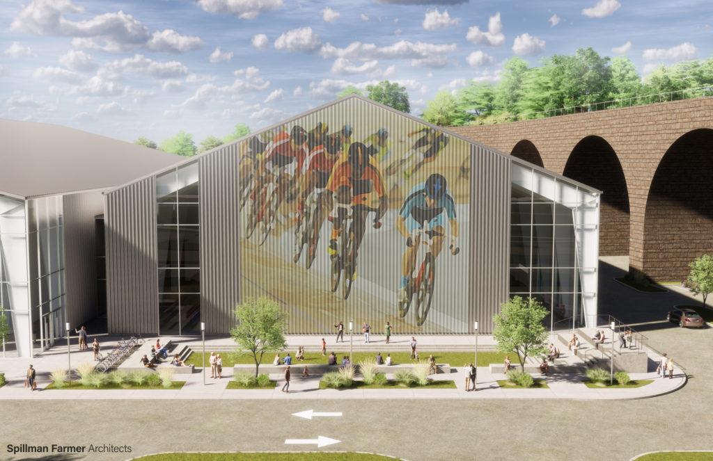 Adjacent Multi-sport Field House